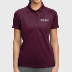 Battlin' B-1 Mom Dri-Mesh Polo